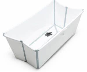 Stokke Flexi Bath Baignoire Pliable Blancgris Au Meilleur