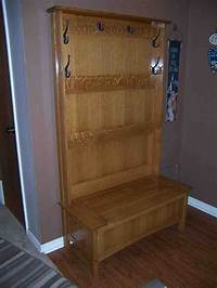 hall tree with storage bench Hall Tree with Storage Bench - Home Furniture Design