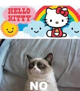 Hello Kitty Grumpy Cat Memes