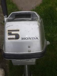 Honda 5 Hp 4 Stroke Outboard Motor For Sale In Clondalkin