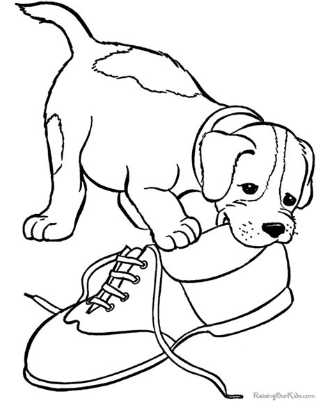 poky little puppy coloring pages
