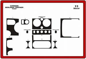 Trims Dashboard Citroen Berlingo 2002