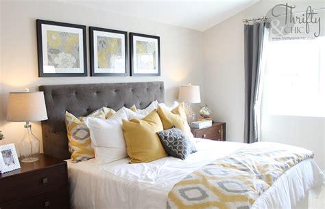 Diy Yellow And Gray Wall Decor