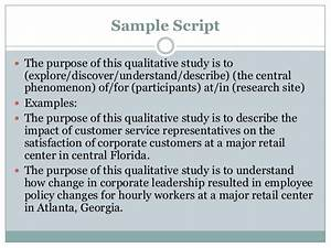 a qualitative purpose statement With what is the purpose of a template