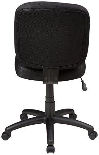 amazon fauteuil de bureau amazonbasics fauteuil de bureau à dossier bas