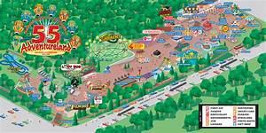 Amusement Park Map   My blog