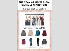 The Stay At Home Mom Capsule Wardrobe Winter 2018
