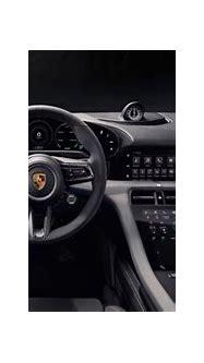 Porsche unveils the interior of Taycan electric car - Electrek
