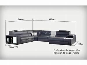 Xxl Meubles Canape : photo canape d 39 angle cuir xxl ~ Teatrodelosmanantiales.com Idées de Décoration