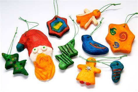 how to make christmas ornaments with dough with pictures