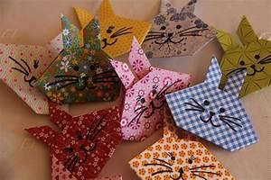 Origami Osterhase Faltanleitung Einfach : harzhexes handarbeiten origami h schen ~ Watch28wear.com Haus und Dekorationen