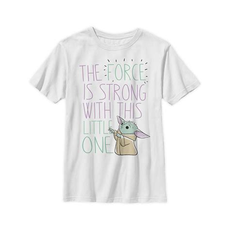 The Child ''The Force Is Strong'' T-Shirt for Kids – Star ...
