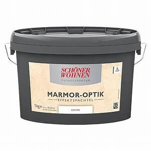 Marmor Effekt Spachtel : sch ner wohnen effekt spachtel trendstruktur marmor optik ~ Watch28wear.com Haus und Dekorationen
