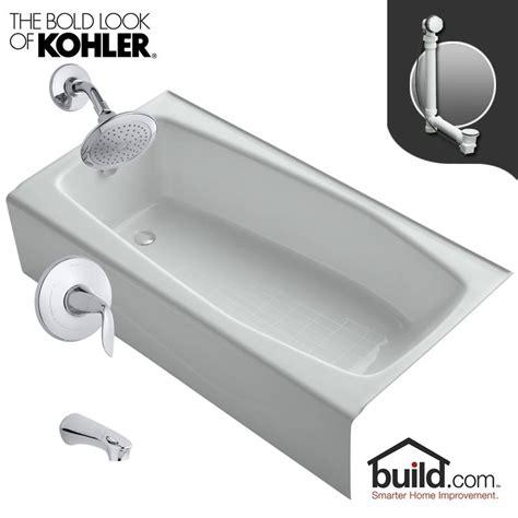 kohler villager bathtub specs kohler k 715 0 k t5318 4 cp polished chrome tub filler