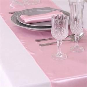 Nappe Rose Pale : chemin de table mariage rose pale ustensiles de cuisine ~ Teatrodelosmanantiales.com Idées de Décoration