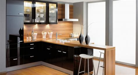 cocinas en color negro