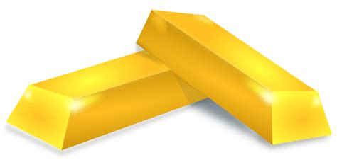 Gold Clipart Gold Bricks Clip At Clker Vector Clip