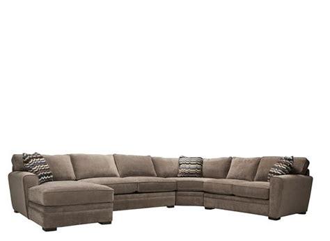 Raymour And Flanigan Sleeper Sofa by Artemis Ii 4 Pc Microfiber Sectional Sofa W Sleeper