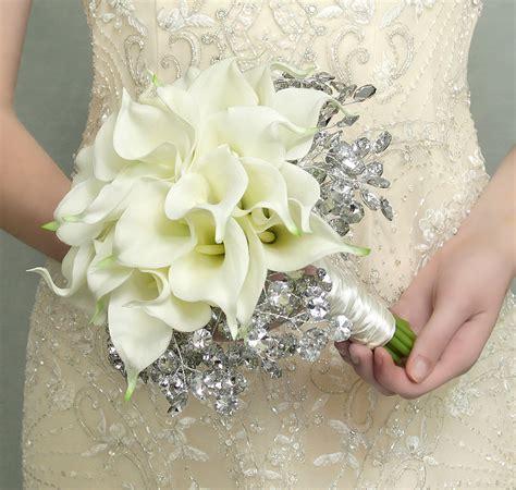wedding lillies wedding bouquets wedding lily bouquets