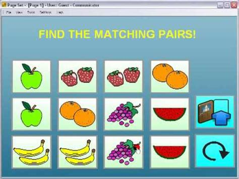 powerpoint matching pairs game template dcpedestriancom