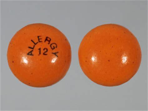 allergy  pill images orange