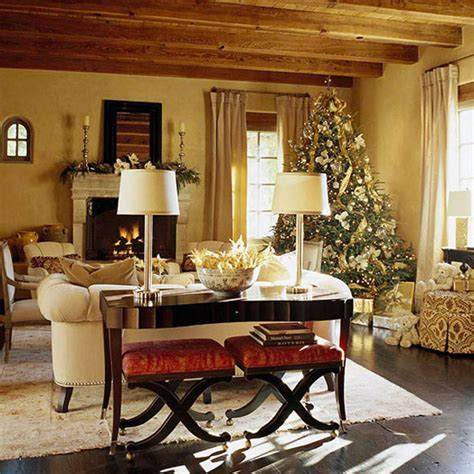 Decorating Classic Christmas Design For Living Room