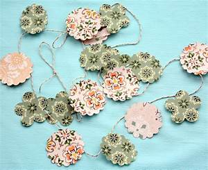 Punched, Paper, Diy, Garland, National, Craft, Month, Project, U0026, Giveaway