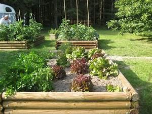 Carre Potager En Bois Pas Cher : 25 potager hors sol install sur une pelouse ~ Dailycaller-alerts.com Idées de Décoration