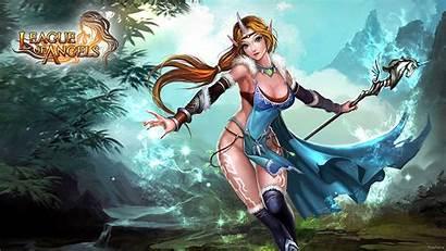 Angels League Wallpapers Angel Warrior Fantasy