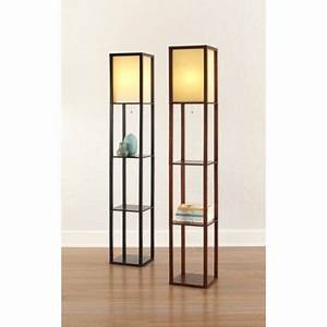 lamps ivory and shelves on pinterest With thresholdtm floor shelf lamp with ivory shade
