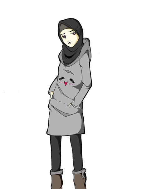 hijab  hanabi  deviantart