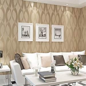 Wohnzimmer Tapeten Braun Beige Ragopigeinfo