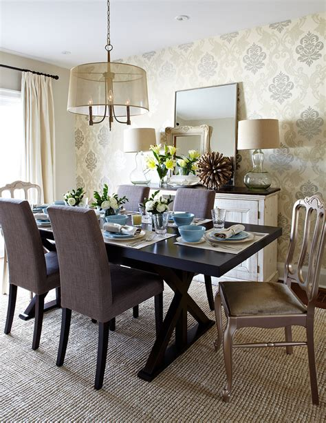 dining room decor ideas pictures astonishing damask dining table decorating ideas gallery