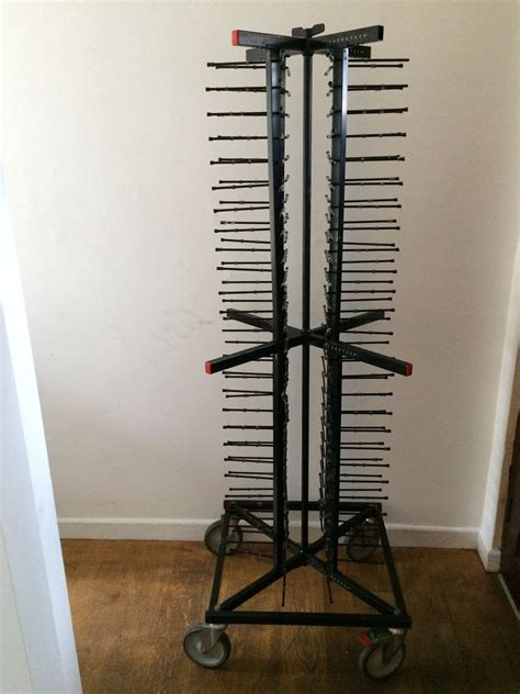 secondhand catering equipment jack stands  plate racks