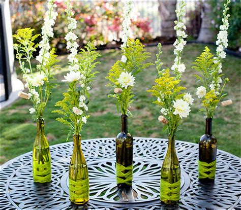 Decorative Wine Bottles For Wedding by The Creative Use Of Wine Bottles Wine Bottles