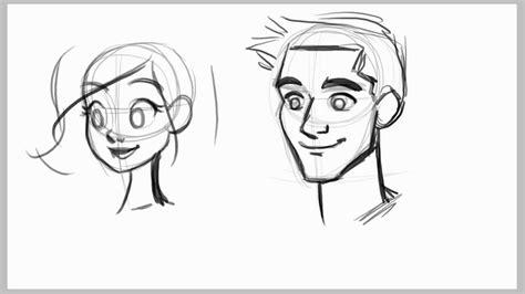 draw male faces ezdrawz tutorial youtube