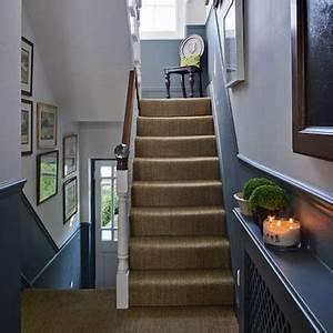 Peindre Une Cage D Escalier En 2 Couleurs Peindre Escalier Bois 2