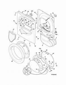Frigidaire Ffqe5100pw0 Dryer Parts