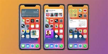 Ios Iphone Widgets Screen Ipad