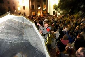 Huge protest at UC Berkeley - vote to set up camp - SFGate