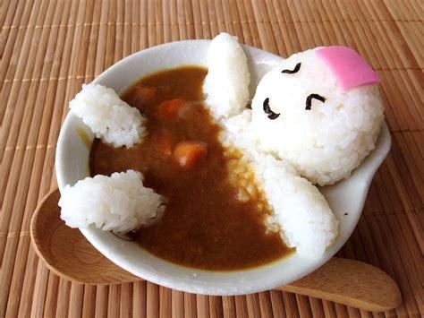 delicious cuisine onigiri in curry onsen p miss bento