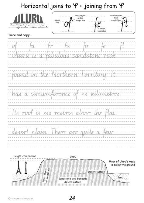 handwriting conventions vic year  teachers
