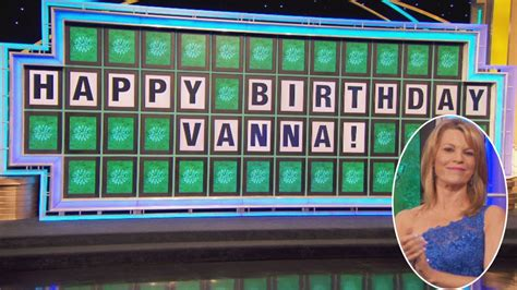 vanna fortune wheel 60 young she inside staying turns