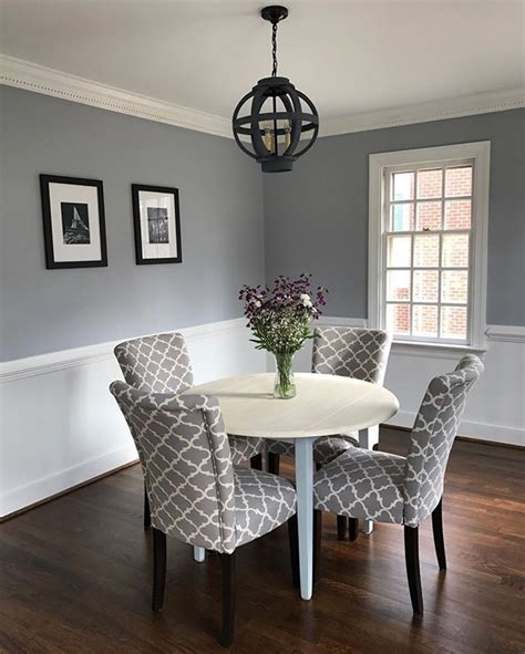 thundercloud gray by benjamin kitchen dining room dining room paint dining room