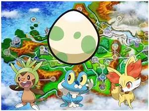 How to get Fennekin,Froakie and Chespin egg on Pokemon X ...