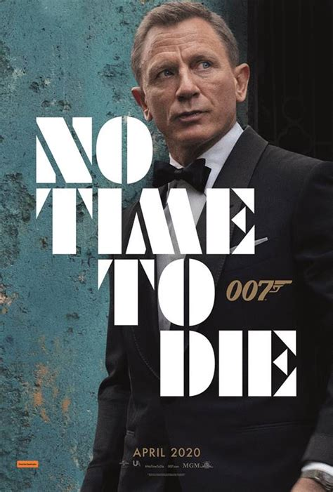 NO TIME TO DIE - Teaser Trailer and Character Posters ...