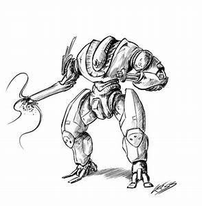 Daily robot v2 7 by RobertLaszloKiss on DeviantArt