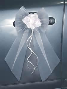 noeud mariage voiture toute la décoration de voiture de mariage la fée décoration voiture mariage et