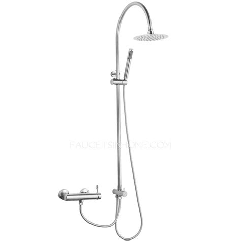kitchen water faucet modern stainless steel bathroom shower heads and faucets