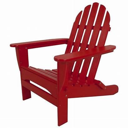 Adirondack Plastic Chair Polywood Patio Classic Sunset
